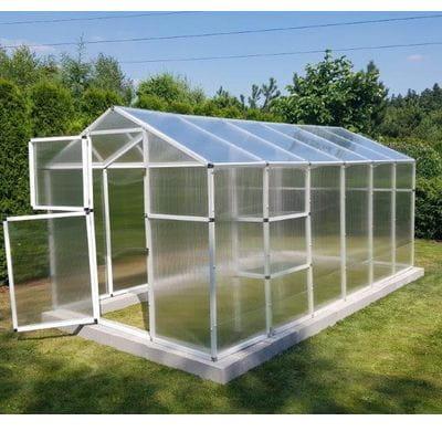 Szklarnia ogrodowa 4,2 m2 z poliwęglanu